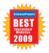 Best Educational Websites by Science Project Corporation